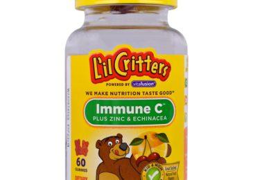 Топ-10 детских витаминов и добавок с цинком  на Айхербе в 2019 году